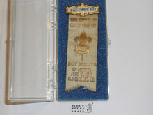 1917 Wheelbarrow Race Boy Scout Award Ribbon