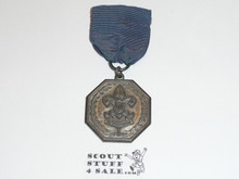 1940's Silver Boy Scout Contest Medal