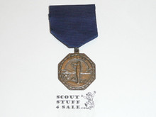 Bronze Boy Scout Bugling Contest Medal