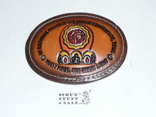 National Order of the Arrow Conference (NOAC), 1992 Leather Belt Buckle