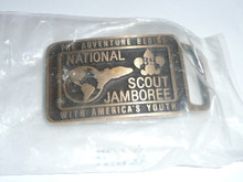 1989 National Jamboree MAX SILBER Belt Buckle