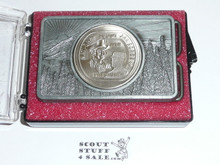 1981 National Jamboree Belt Buckle