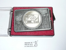 1977 National Jamboree Belt Buckle