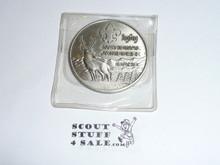 1969 National Jamboree Coin / Token, Chrome color