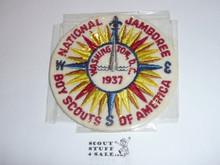 "1937 National Jamboree 4"" Patch, Prototype"