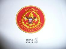 Council Executive Staff Patch (CES1), 1973-?, lite use