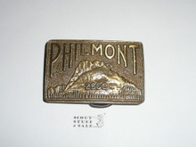 Philmont Scout Ranch 2000 Belt Buckle