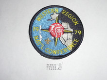 National Order of the Arrow Conference (NOAC), 1979 Western Region Patch
