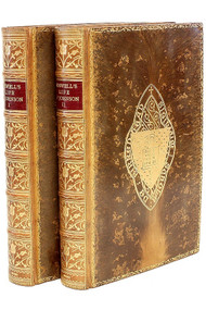 BOSWELL, James. Boswell's Life of Johnson. (THE OXFORD EDITION - 2 VOLUMES - 1904)