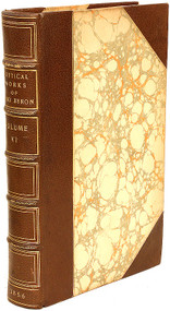 BYRON, Lord George Gordon; (Thomas Moore). The Poetical Works of Lord Byron. (A NEW EDITION - EXTRA ILLUSTRATED - 6 VOLUMES).)