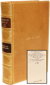 DOYLE, Arthur Conan. The Works of Arthur Conan Doyle. (THE CROWBOROUGH EDITION - 24 VOLUMES - SIGNED)