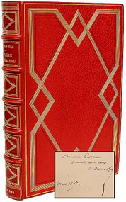 DUMAS, Alexander. Affaire Clemenceau. Memoire de l'Accuse. (FIRST EDITION - PRESENTATION COPY - EXTRA ILLUSTRATED - 1866)