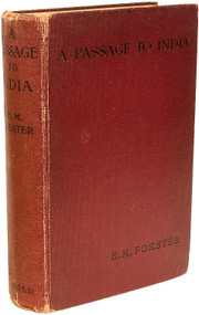FORSTER, E. M.. A Passage to India. (FIRST EDITION FIRST ISSUE - 1924)