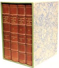 Louvet de Couvray (Jean-Baptiste). Les amours du chevalier de Faublas. (LIMITED TO 15 COPIES - 4 VOLUMES - 1932)