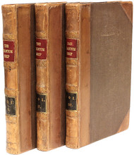MARRYAT, Frederick. The Phantom Ship. (FIRST UK EDITION - 3 VOLUMES - 1839)