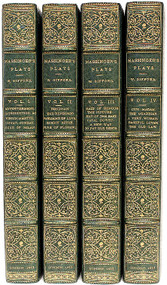 MASSINGER, Philip. The Plays of Philip Massing. (SECOND EDITION - 4 VOLUMES - 1813)