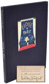 THOMPSON, Kay (Hilary Knight). Eloise in Paris. (LIMITED SIGNED EDITION - 1999)