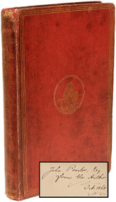 DODGSON, Charles L.: Lewis Carroll - Alice's Adventures in Wonderland. (PRESENTATION COPY - 1868)