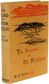 WELLS, H. G.. The Island of Doctor Moreau. (1896 - FIRST EDITION FIRST ISSUE)