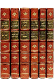 AUSTEN, Jane (J. E. Austen Leigh). The Complete Works of Jane Austen. (6 VOLUMES - THE CHAWTON EDITION)