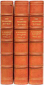 MAUGHAM, William Somerset. The Selected Novels of William Somerset Maugham. (3 VOLUMES - 1953)