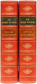 MAUPASSANT, Guy de. 88 Short Stories & 88 More Stories. (2 VOLUMES - 1952)