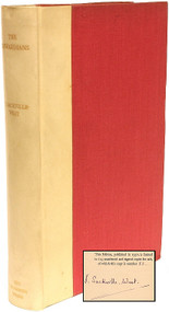 SACKVILLE-WEST, Vita (Victoria). The Edwardians. (FIRST EDITION - LIMITED SIGNED - 1930)