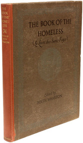 WHARTON, Edith (editor).The Book of The Homeless (Le Livre des Sans-Foyer). (FIRST EDITION - 1916)