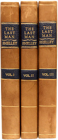 SHELLEY, Mary. The Last Man. (FIRST EDITION - 1826 - 3 VOLUMES)