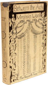 WOOLF, Virginia. Between The Acts. (FIRST EDITION - 1941)