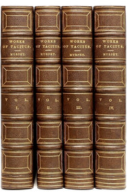 MURPHY, Arthur. The Works of Cornelius Tacitus: withAn Essay on The Life and Genius of Tacitus; Notes, Supplements, and Maps. (FIRST EDITION OF THIS TRANSLATION - 1793 - 4 VOLUMES)