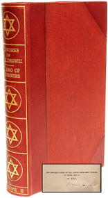ZANGWILL, Israel. The Works of Israel Zangwill. (LIMITED SIGNED EDITION - 14 VOLUMES - 1925)
