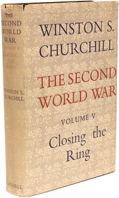 CHURCHILL, Winston. The Second World War - Volume 5 - Closing The Ring. (FIRST EDITION - 1952)