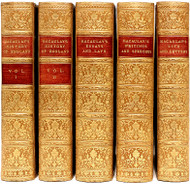 MACAULAY, Thomas Babington. The History of England - Essays - Speeches - Life and Letters. (THE POPULAR EDITION - 5 VOLUMES - 1905/9)