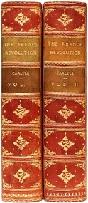 CARLYLE, Thomas. The French Revolution.  (2 VOLUMES - 1910 - ILLUSTRATED BY EDMUND J. SULLIVAN)