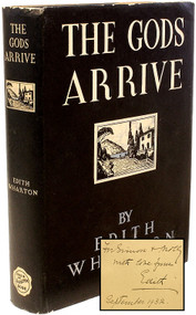WHARTON, Edith. The Gods Arrive. (FIRST EDITION - INSCRIBED - 1932)