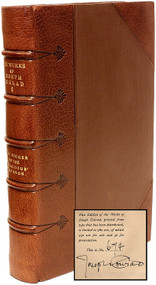 CONRAD, Joseph. The Works of Joseph Conrad. (LIMITED SIGNED EDITON - 20 VOLUMES - 1921)