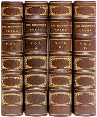 BROWNING, Elizabeth Barrett. The Collected Poems of Elizabeth Barrett Browning. (4 VOLUMES - 1862)