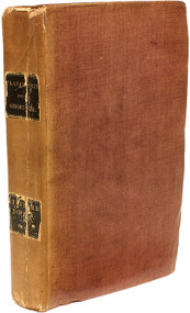 SHELLEY, Mary. Frankenstein; or, the Modern Prometheus, Revised, Corrected, and Illustrated with a New Introduction by the Author. Volume IX of Bentley's Standard Novels series. (SECOND PRINTING OF THE THIRD EDITION WITH A NEW INTRODUCTION- 1832)