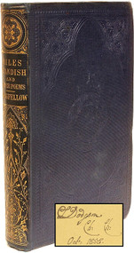 LONGFELLOW, Henry Wadsworth. The Courtship of Miles Standish, and other Poems. (CHARLES DODGSON'S [LEWIS CARROLL] COPY - 1858)