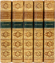 AUSTEN, Jane. The Novels of Jane Austen. (5 VOLUMES - 1897-1900)