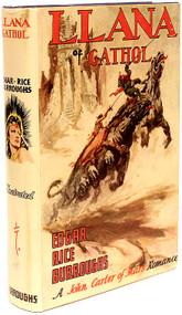 BURROUGHS, Edgar Rice. Llana of Gathol. (FIRST EDITION STATED - 1948)