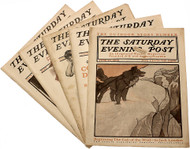 LONDON, Jack. The Call of the Wild. (Saturday Evening Post, June 20 - July 18,1903) (THE TRUE FIRST PRINTING - 1903)