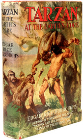 BURROUGHS, Edgar Rice. Tarzan at the Earth's Core. (GROSSET & DUNLAP - 1934)