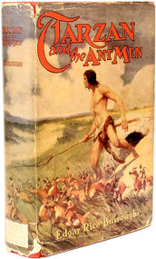 BURROUGHS, Edgar Rice - Tarzan and the Ant Men. (GROSSET & DUNLAP - 1933)
