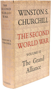CHURCHILL, Winston. The Second World War - Vol. 3 - The Grand Alliance. (FIRST EDITION - 1950)
