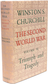 CHURCHILL, Winston. The Second World War - Volume 6 - Triumph and Tragedy. (1954 - FIRST EDITION)