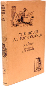 MILNE, A. A.. The House At Pooh Corner. (FIRST EDITION - 1928)