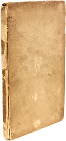 SHELLEY, Percy Bysshe. The Masque of Anarchy. Now First Published, with a Preface by Leigh Hunt. (FIRST EDITION FIRST BINDING COMPLETELY UNRESTORED - 1832)