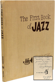 HUGHES, Langston. The First Book of Jazz. (FIRST EDITION PRESENTATION COPY - 1955)